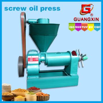 Extração de óleo de tamanho pequeno 1.3tons Per Day Screw Oil Press
