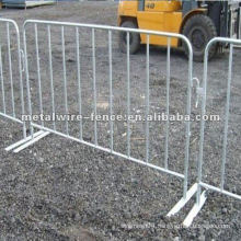 pedestrian control traffic barriers
