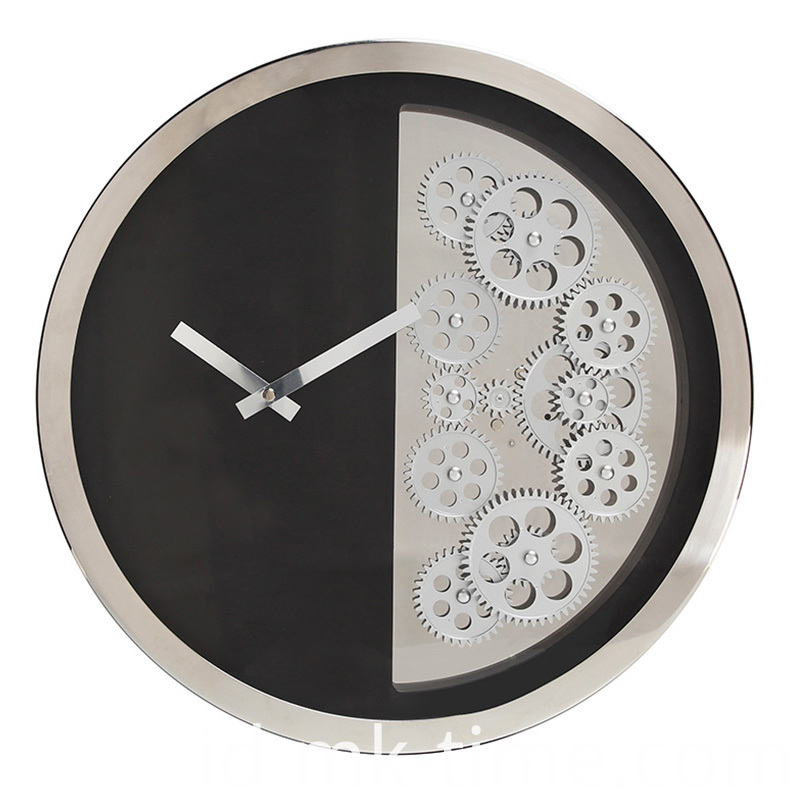 16 Inches Round Wall Clock Hanging