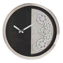 16 pulgadas de reloj de pared redondo colgando