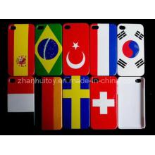 Flag Design Phone Housing Phone Hard Case for iPhone (H03)