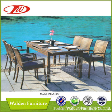 Outdoor Rattan Extension Table (DH-6125)