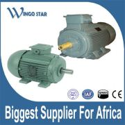electric motor for machine tools