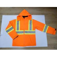 High Visibility Reflective Safety Softshell Jacket