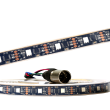 Digital Addressable Flexible Programmale DMX RGB LED Strip Direct DMX512A Pixel-by-Pixel Control