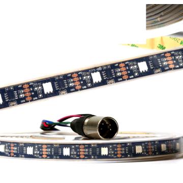 DMX512A Pixel by Pixel Control Colorful Magic Flexible LED tira de luz 5V