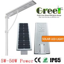Lumière de LED solaire 8W pour rue et usage routier