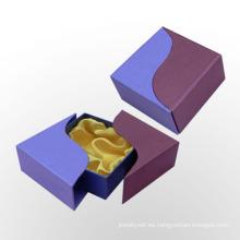 Caja de regalo de forma única de cartón para caja de pulsera