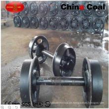 China Coal Group Car Wheels para la mina, Mine Wagon Wheel