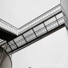 Verzinktem Stahl Gitter für Stahlkonstruktion Stock
