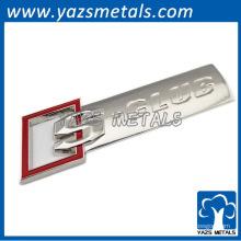 Golddesign-Markenauto-Emblem für Förderung
