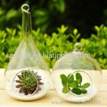 Wholesale Home Decoration Hanging Glass Flower Vase