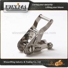 """Personnalisé 1"""" Heavy Duty Cliquet lourds de treillis métallique en acier inoxydable"""