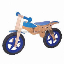High quality wooden balance bike for kids, measures 93x34x45cm, ASTM/TUV/GS/EN 71 and CE certified