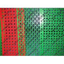 Hoja de metal perforada recubierta de PVC