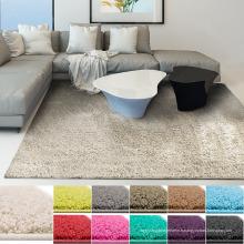 Polyester microfibre shaggy tapis tapis salon