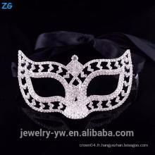 Des masques de célébrités en cristal à haute qualité, des masques de mascarade achètent à bas prix