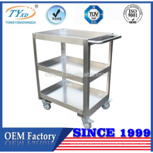 custom mobile medical storage trolley cart