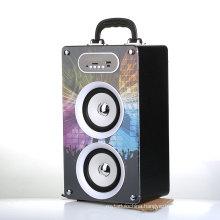 400 MAH wooden case multimedia speaker