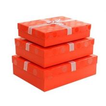 Caja de papel corrugado de color, impresión personalizada de cartón
