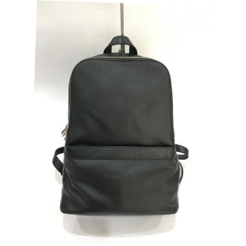 Men'S Backpack Leather Backpack Business Computer Bag