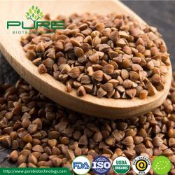 Brown roasted buckwheat kernel