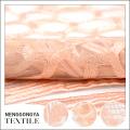 Tissu de dentelle française personnalisée de partie de mode professionnelle