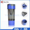 600ml Cyclone Cup Plastic Shaker Bottle with Filter and Containers (KL-7008)