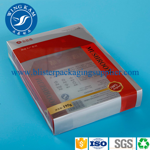 Offset Printing Color Plastic PET PVC Folding Box for Emergency Charger car charger Wall