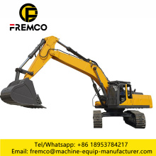 Crawler Excavator For Excavating Earthwork