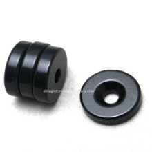 D20X5 Black Epoxy Coating N38 Ring Magnet