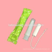 2018 Les tampons applicateurs compacts organiques les plus confortables pour l'usage menstruel