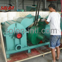 Crusher Grind machine for Wood Pallet block leg