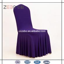 Hochzeit oder Bankett verwendet 200GSM Lycra Stoff Stretch Stuhl Abdeckungen zum Verkauf