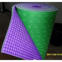 Deversible PVC yoga mat