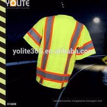 Hot Sales High Visibility Construction Safety Vest for Ht0011