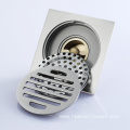 HIDEEP Brush Nickel Anti-odor Bathroom Floor Drain