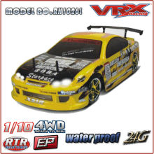NOVO RTR 1/10 escala 4WD OFF ROAD DRIFT RACING carro RC