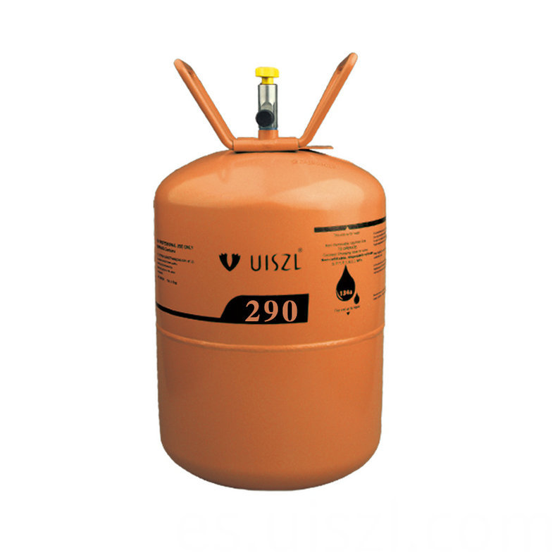 Eco-friendly refrigerant gas propane R290