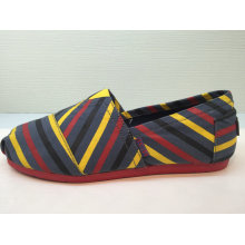 Bunte gestreifte Zapatos Mujer Sneakers Frauen / Männer