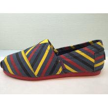 Zapatos de rayas coloridas Mujer Zapatillas de deporte Mujer / Hombre