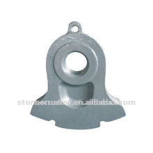 2012 high manganese steel crusher hammer ,good quality Crusher wearing Parts