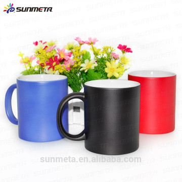 Sublimation 11oz Make Hot Water Color Changing Mug made in YIWU