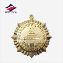Die casting high-end souvenir grossiste médaille de métal en laiton
