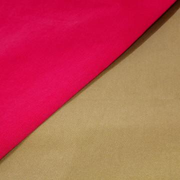 100% algodón lavado sarga pesada Guangzhou tejido de existencias para el escudo