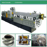 CE Co-Rotation Twin Screw Plastic Extruder for Masterbatch and Compounding
