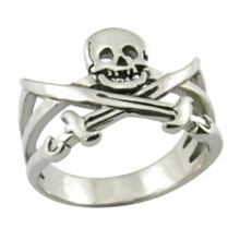 Stainless Steel Ring Fashion Jewelry Skull Ring Pirate Ring