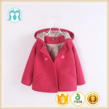 Full Sleeve manteaux noël enfants coton nylon mode asiatique manteaux d'hiver bébé filles rose foncé pour les filles nouveau