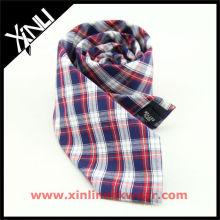 Karierte Baumwolle 2014 Hersteller Männer Krawatten