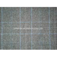 Tela de lana con cheque (Art # UW066)